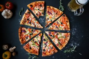 pizza sample photo